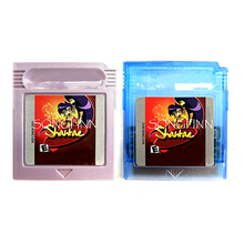 Shantae cartucho de memoria en español e inglés, accesorio para consola de videojuegos de 16 bits