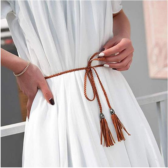 New Arrival Fashion Weaving Women Belt Classic Fashion Solid PU Leather Belt Ladies Waistband Wide Belt Strap For Dress Sweater(China)