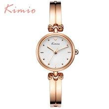 Nouveau mode Kimio luxe femmes quartz robe montres bracelet montre étanche dames en acier inoxydable montres-bracelets avec la boîte