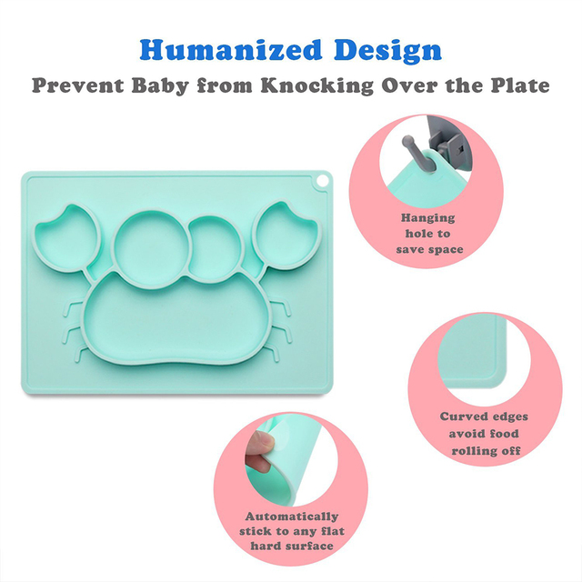 Animal Patterned Silicone Baby's Bowl