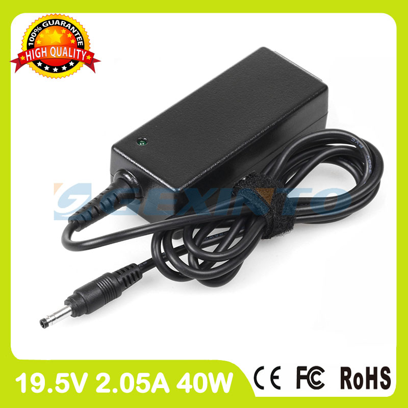 19.5V 2.05A 40W ac power adapter 622435-002 580402-002 laptop charger for HP Mini 100 100-1000 100e Education Edition X100e