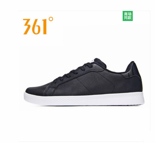 361men's shoes casual sports shoes 2018 autumn new 361 degrees trend wild white shoes