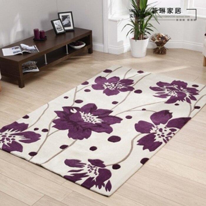 Compra alfombra de lana hecho a mano online al por mayor for Alfombras hechas con lana