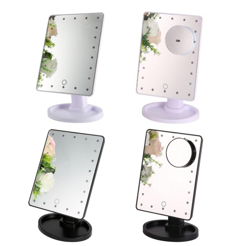 acquista all'ingrosso online specchio per il trucco professionale ... - Mobile Specchio Make Up