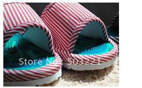 Hot selling acupuncture point massage shoes only women female slippers