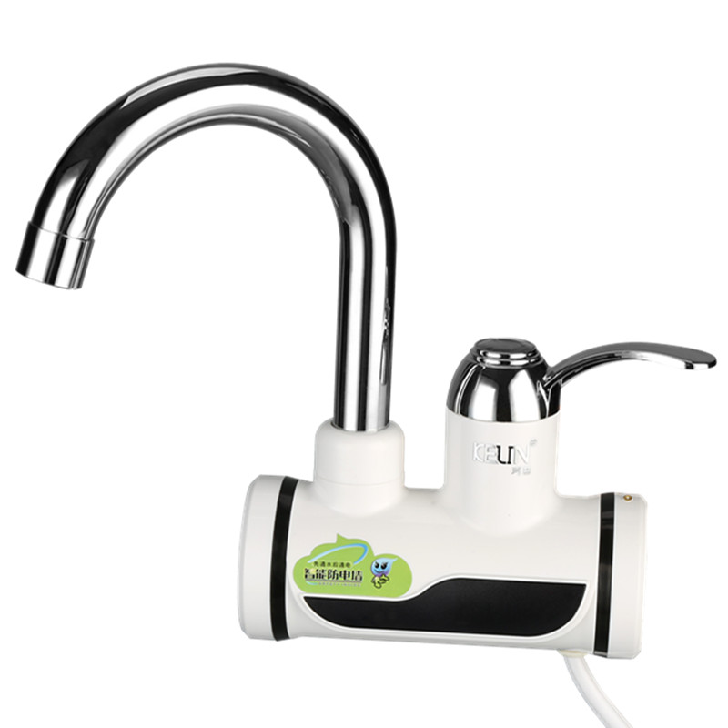 LED display electric heating faucet, electic hot water taps, boiling water tap