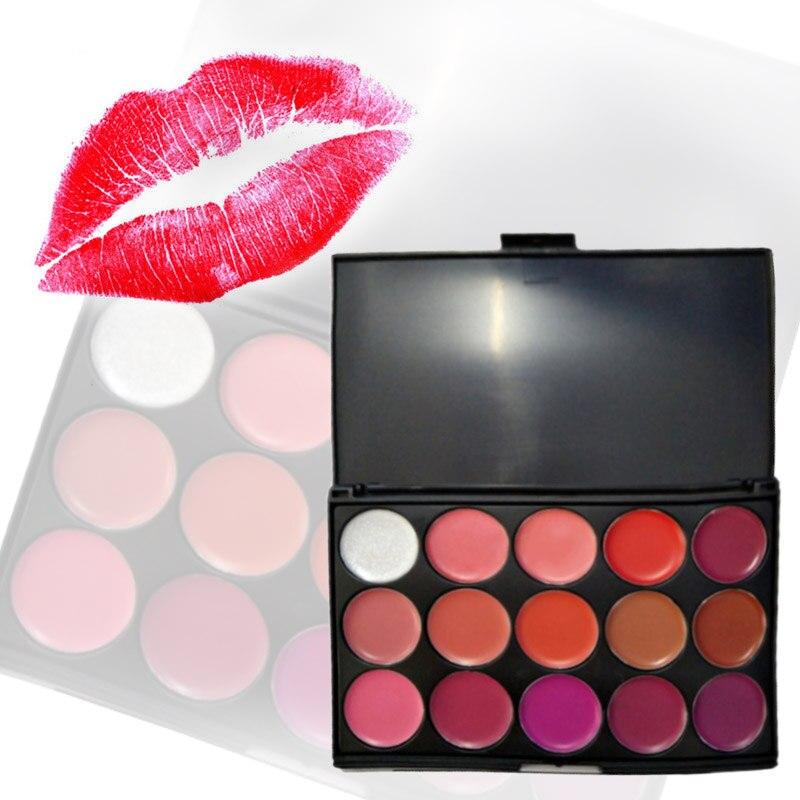15 Colour Trendy Contour Kit Makeup Lipstick Concealer Camouflage Neutral Palette To Fas ...