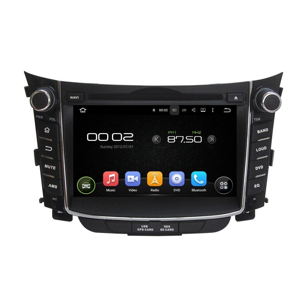 KLYDE 7 2 Din Android 8,1 радио автомобиль hyundai I30 2011 2014 Car Audio мультимедийный плеер стерео Зеркало Ссылка DVD рулевого