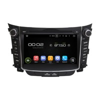 KLYDE 7 2 Din Android 8.1 Car Radio For Hyundai I30 2011 2014 Car Audio Multimedia Player Car Stereo Mirror Link DVD Steering