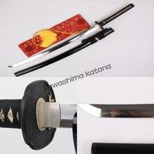 Handmade 1095 Carbon Steel Clay Tempered Samurai Sword Katana Sharp Edge Ready For Battle