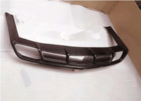 Carbon fiber Rear Bumper Lip Spoiler Diffuser Cover For Cadillac CTS 2014 2015 2016 Fast by EMS (V STYLE)