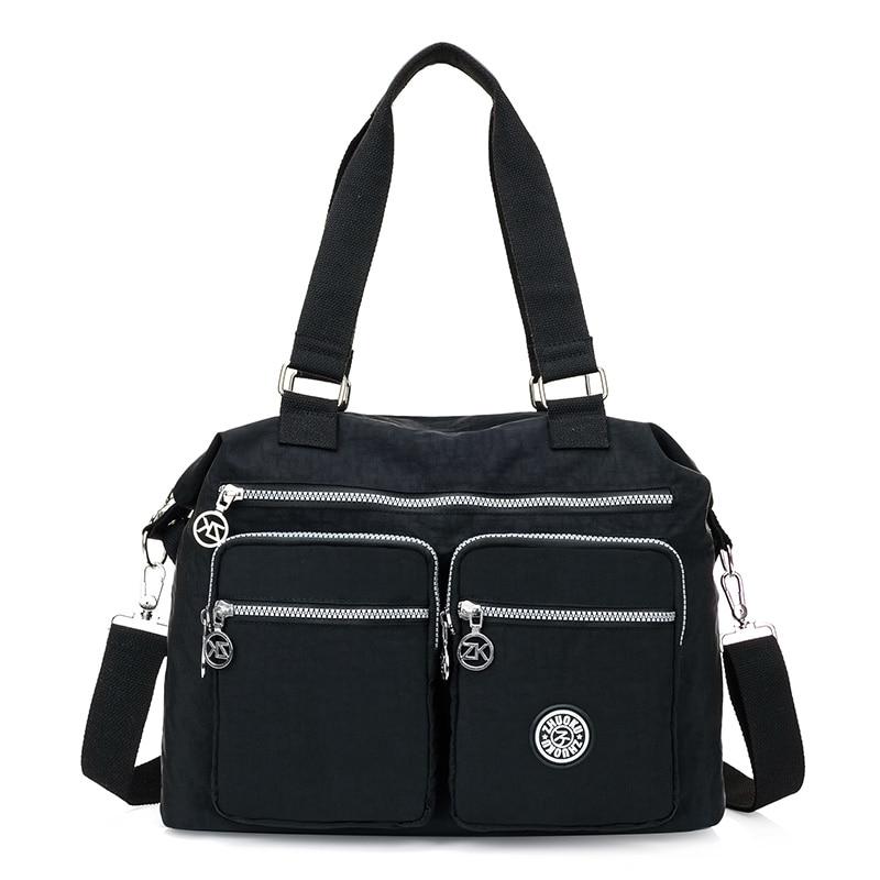 Women Messenger Bags Shopping Travel Handbags Nylon Ladies Shoulder Bags Female Tote Handbag Casual Large Crossbody Bag