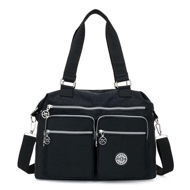 66f4d666ce73 Women Messenger Bags Shopping Travel Handbags Nylon Ladies Shoulder Bags  Female Tote Handbag Casual Large Crossbody
