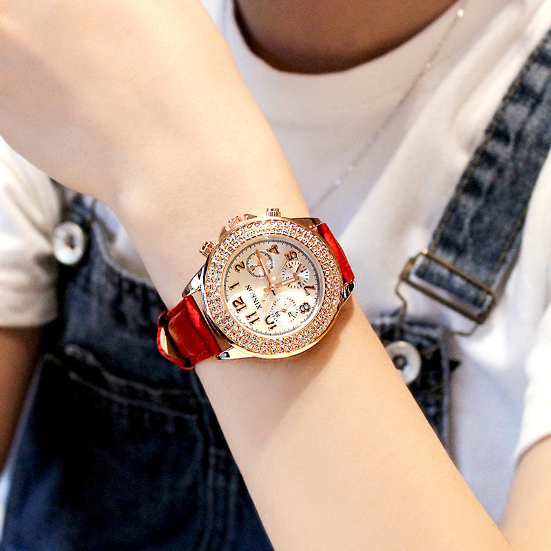 Women 39 s Quartz Watches 2018 Top Brand Fashion Ladies Watches For Women Diamond Wristwatch Luxury Relogio Feminino in Women 39 s Watches from Watches