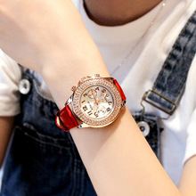 Womens Quartz Watches 2018 Top Brand Fashion Ladies For Women Diamond Wristwatch Luxury Relogio Feminino