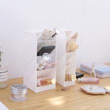 New oblique pen holder storage box office desktop desk stationery supplies rack makeup brush tube