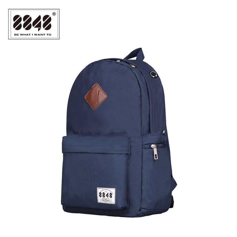 8848 брендовый рюкзак для путешествий школьный рюкзак сумка 15,6 дюймов отделение для обуви для Ноутбука Мужской рюкзак 2019 специальная сумка на плечо Тип D020-1