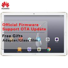 "Official Firmware Huawei Mediapad M5 10.8"" Android 8.0 Octa Core Huawei M5 Table Kirin 960s 4GB RAM 2560x1600 2K IPS Fingerprint"