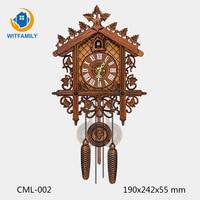 Best Shot 2018 Products Eloj De Pared Decorativo Cuckoo Clock Wall Clock Living Room Decoration Cross border Hot Cuckoo Clocks