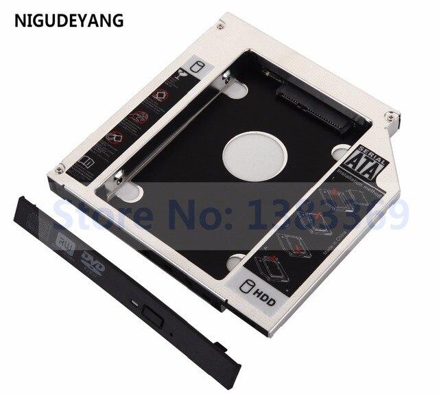 NIGUDEYANG 2nd HDD SSD жесткий диск Caddy адаптер для Toshiba Satellite L650 L650D L655 L655D