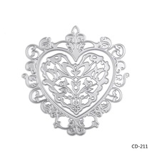 Heart-shaped  Design Cutting Dies For DIY Scrapbooking Birthday Photo Album Decorative Embossing Paper Cards.