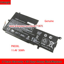 Battery Laptop PK03XL HSTNN-DB6S HP for Spectre X360/13-4000/789116-005/.. 56wh Cells