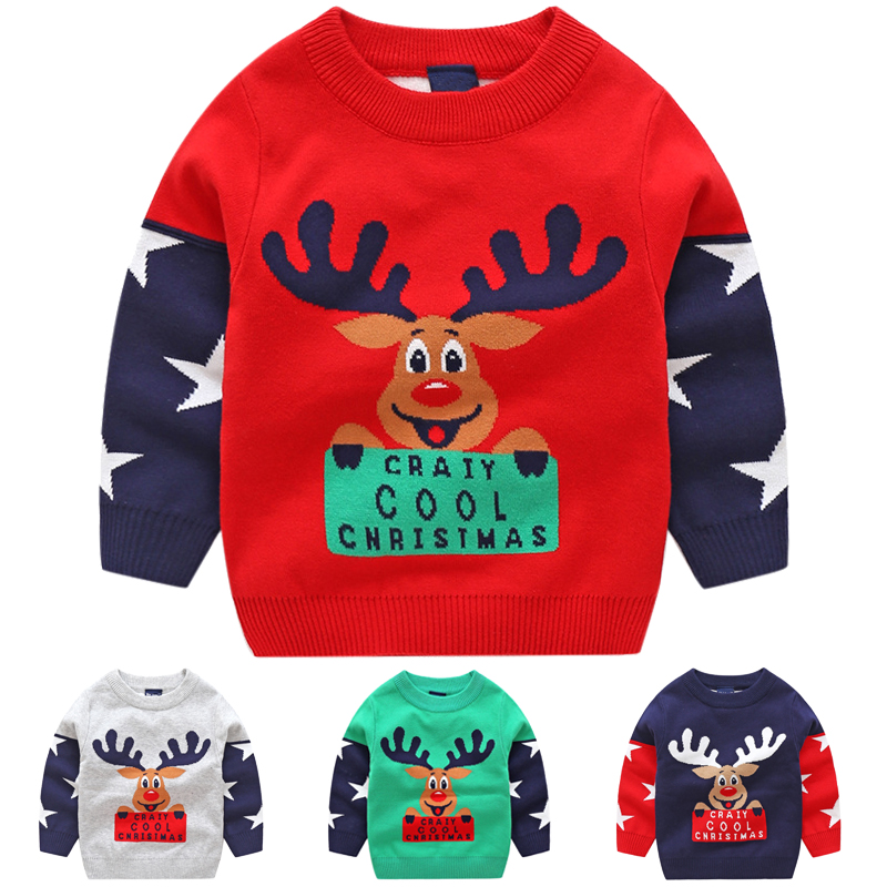 baby boy christmas sweater boys sweaters winter tops cotton knit kids pullover autumn 2018 children clothes pull noel enfant bbk pre sale tao 2018 autumn kids clothes boys pullover knitted sweater cotton winter tops strap pattern baby girls sweaters c
