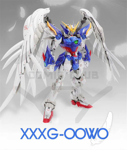 Image 4 - COMIC CLUB INSTOCK first edition MODLE HEART MG 1/100 wing gundam zero ew fix ver.  action assembly figure robot toy