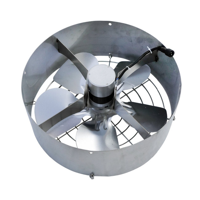 DC 12V 3000 CFM Commercial Industrial Extractor 65W vent Ventilation Fan + 25W Solar Panel for Window