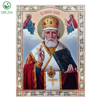Love Life 3D DIY Diamond Embroidery Jesus Father Bible Painting Kits Religion Diamond Mosaic Needlework Full