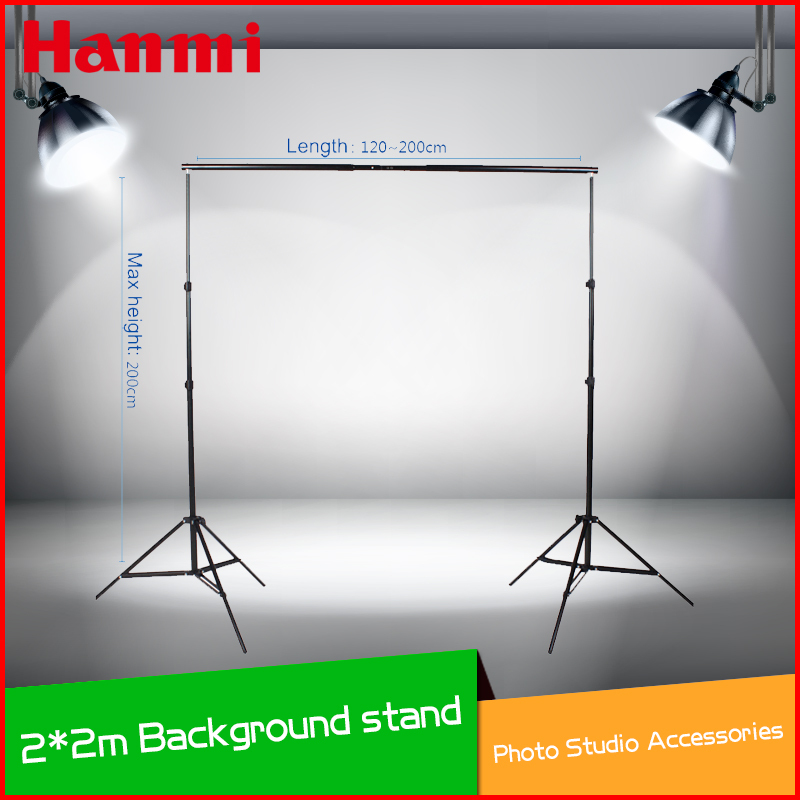 2013 New Professinal Photography 2m * 2m Achtergrondstandaard - Camera en foto