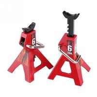 2pcs Metal RC Jack Stands Repairing Tool for RC4WD D90 CC01 SCX10 Wraith TRAXXAS For Trx 4 RC Truck Heavy duty construction