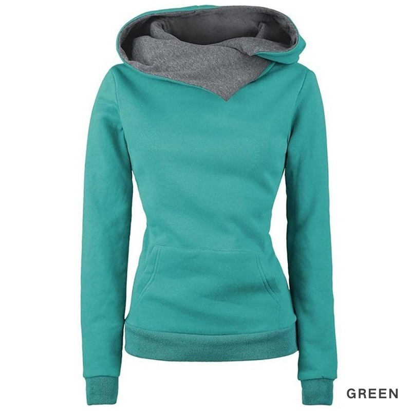 ZOGAA 2018 6 colors fashion casual women 39 s long sleeved hoodie hooded jacket pullover S 2XL plus size women harajuku hoodie in Hoodies amp Sweatshirts from Women 39 s Clothing