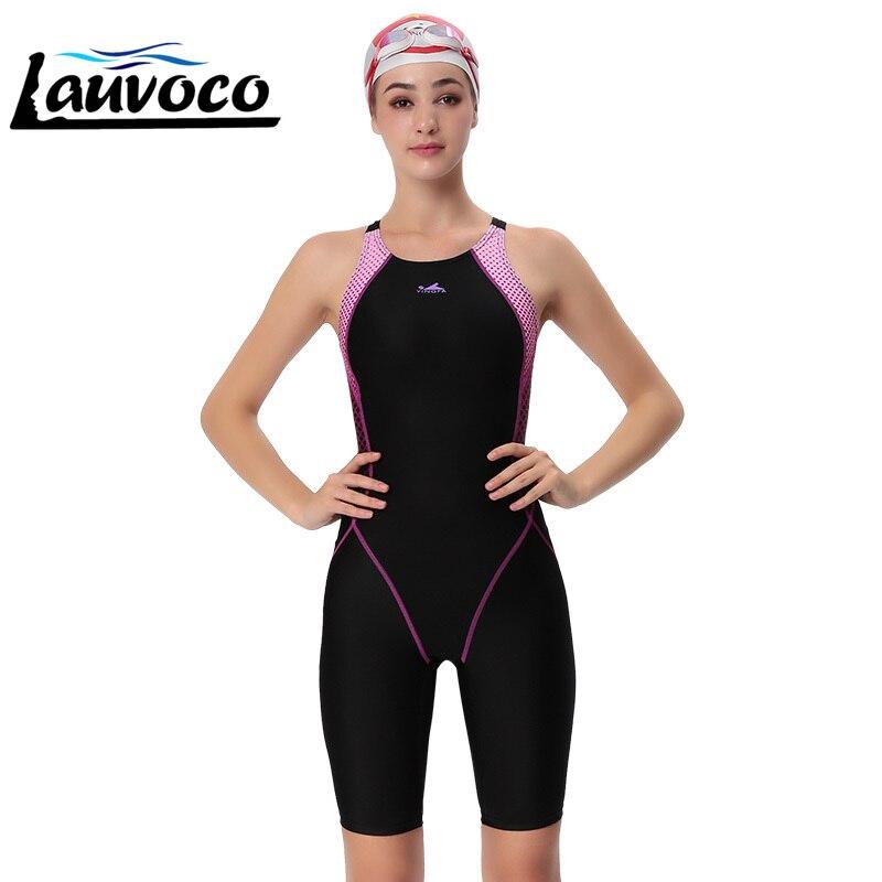 YINGFA maillots de bain femmes une pièce maillot de bain compétitif filles Sport Sharkskin course compétition maillots de bain femme maillot de bain