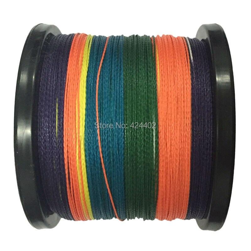 forte Fio de fibra Trançada 4x