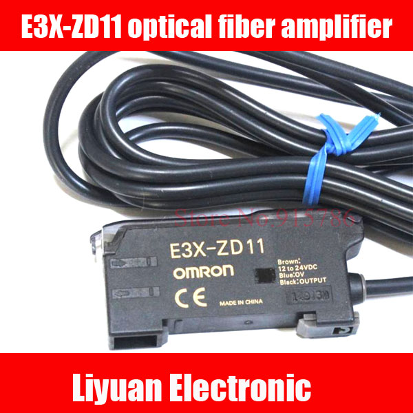 E3X ZD11 optical fiber amplifier E3X ZD11 photoelectric sensor for Omron