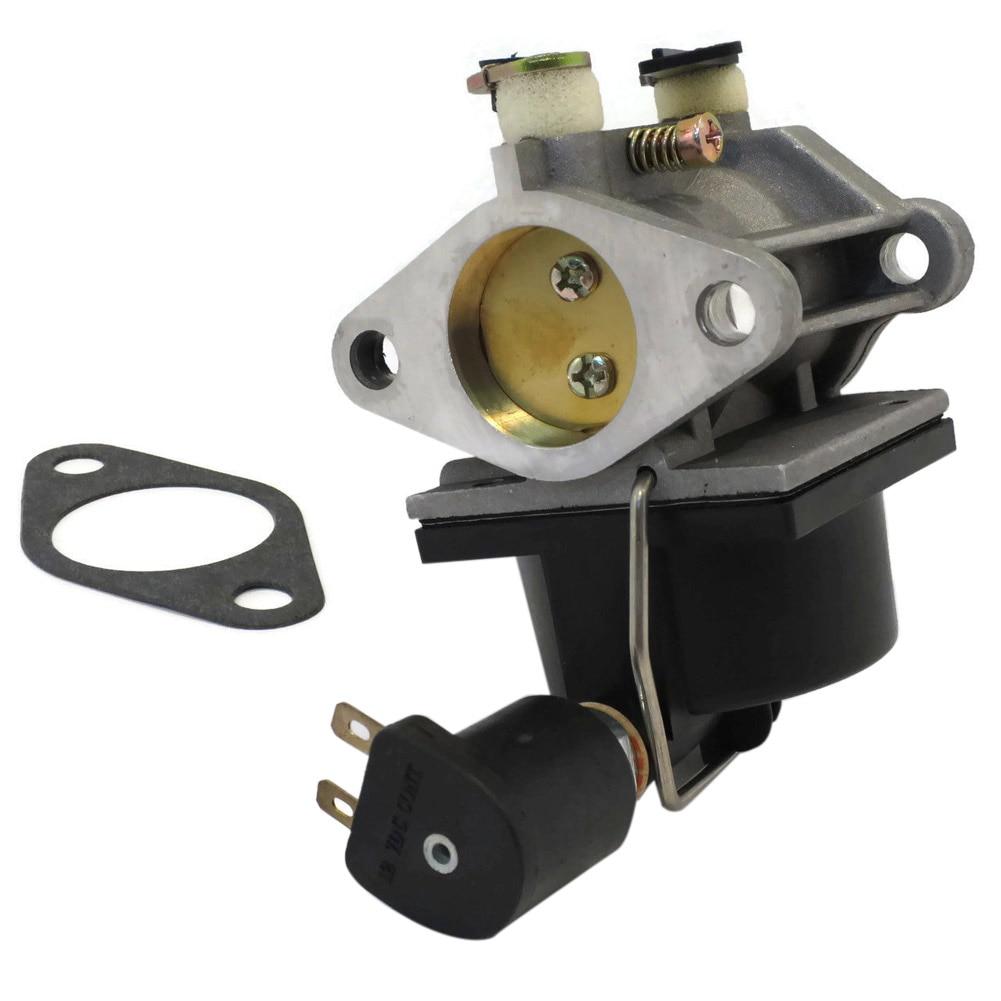 1Set Carburetor Carb Gasket 640330A 640330 Repalcement Tool Set Kit With Fuel Solenoid Engines Fit for 640034A 640072 OHV Series new carb carburetor set kit for k90 k91 k141 k160 k161 k181 engine motor