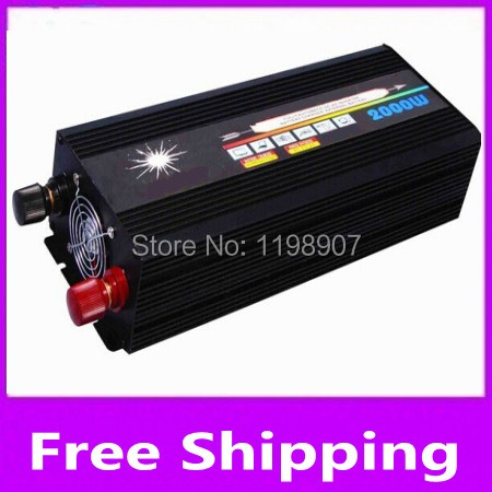 1500W DC TO AC POWER INVERTER USE FOR car boat ships wind turbine system off grid solar computer fan TV printer scanner camera 500w power inverter for solar panel on grid system dc 10 8v 30v to ac 190v 250v one year warranty high quality