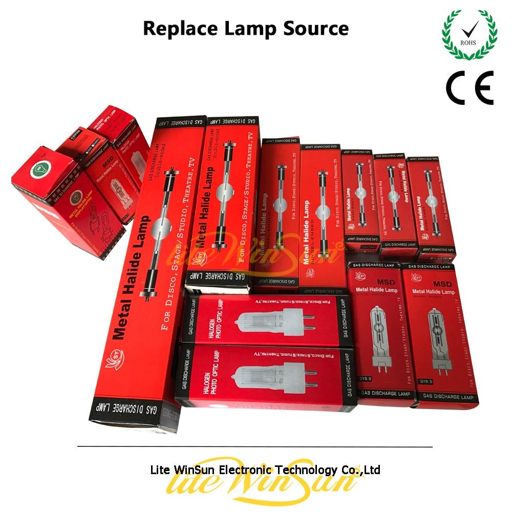 Litewinsune MSD200 MSD250 MSR300 MSR400 MSR575 MSR700 MSD700 MSR1200W GY9.5 G22 Rapide Ajustement Base De Lampe