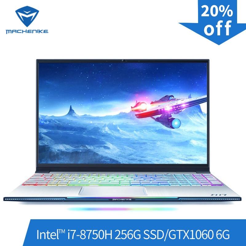 Machenike F117-B6 Gaming Laptop (Intel Core i7-8750H+GTX 1060 6G/8GB RAM/256G SSD/15.6'' 144Hz72%NTSC) Machenike-brande notebook