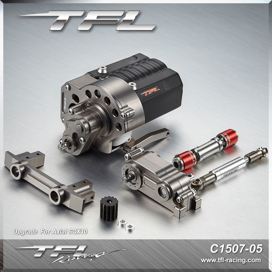 TFL Front Motor Refit Suite Front Electric Machinery Seat AXIAL SCX 10 TFL T 10 Pro General Purpose for RC Cars