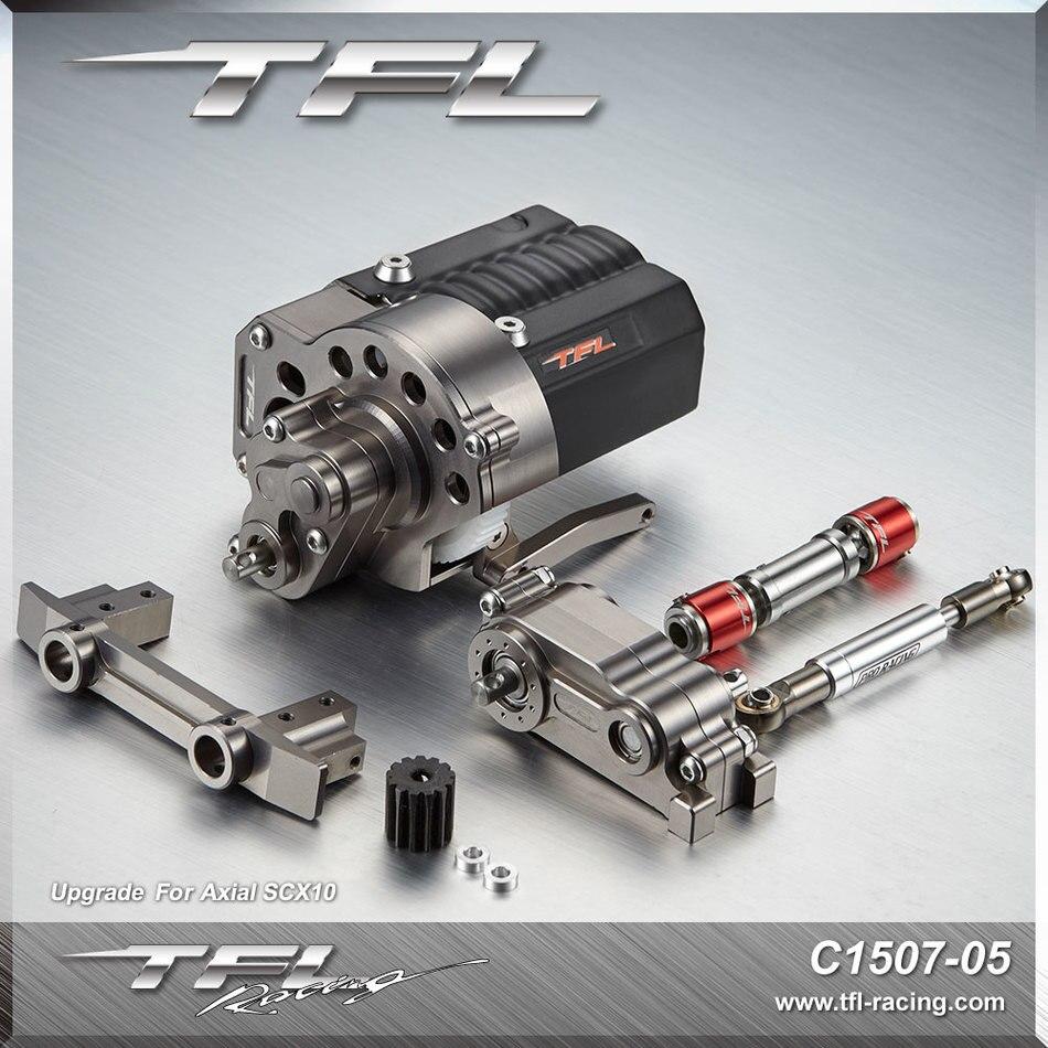 محرك tfl الأمامي مجددة جناح الأمامي الآلات الكهربائية مقعد المحوري scx 10 tfl t 10 الموالية للأغراض العامة لل rc سيارات-في قطع غيار وملحقات من الألعاب والهوايات على  مجموعة 1