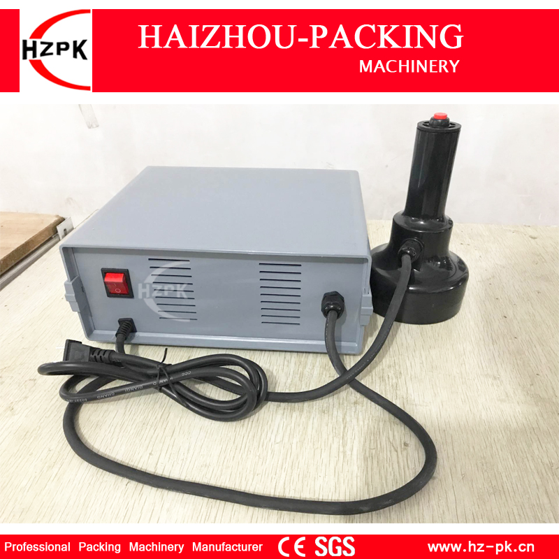 HZPK Hand-held Bottle Mouth Aluminium capping machine Induction Sealing machine For Medical Plastic Bottle Cap Sealer DCGY-F200 free shipping500e hand held electromagnetic induction sealing machine medical plastic bottle cap sealer sealing machine 20 100mm