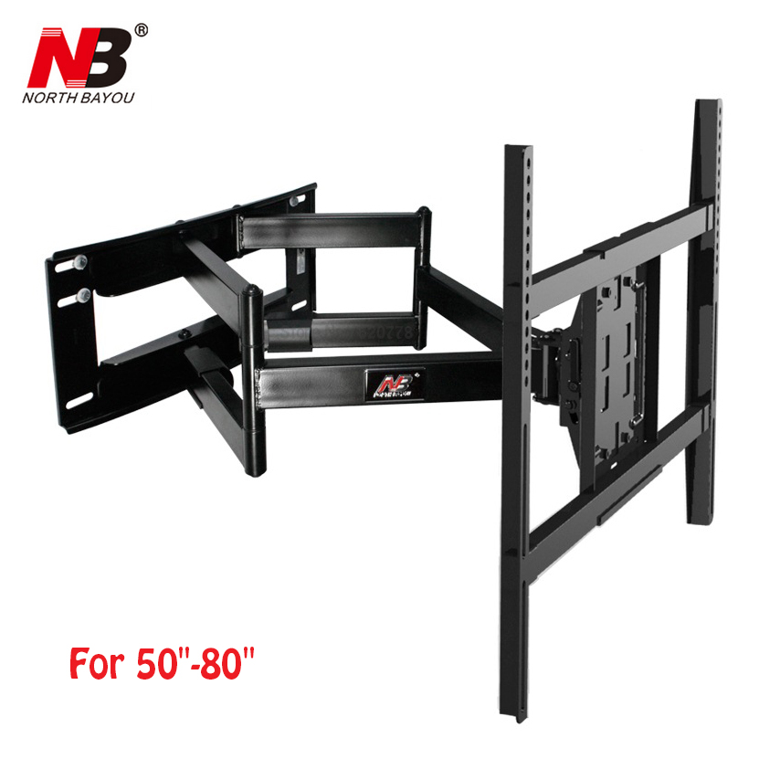 NB SP5 50-80 Flat Panel LED LCD TV Wall Mount Full Motion Heavy Duty Monitor Holder 6 Swing ArmsNB SP5 50-80 Flat Panel LED LCD TV Wall Mount Full Motion Heavy Duty Monitor Holder 6 Swing Arms