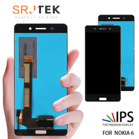 1920x1080 5.5 ORIGINAL Display For NOKIA 6 LCD Touch Screen Digitizer nokia 6 display Replacement For NOKIA 6 LCD Display