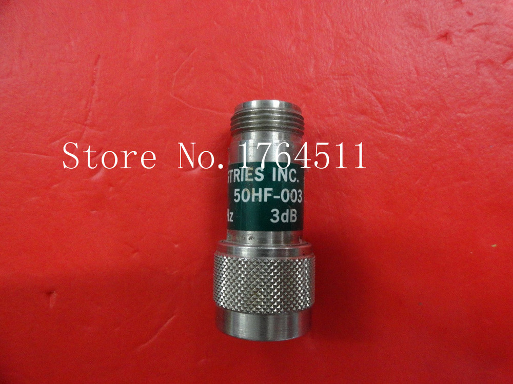 [BELLA] JFW 50HF-003 3dB 0-18GHz Fixed Attenuator  --2PCS/LOT