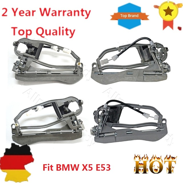 4 Pieces Door Handle Carrier Front Rear Left Right For BMW X5 E53 ...