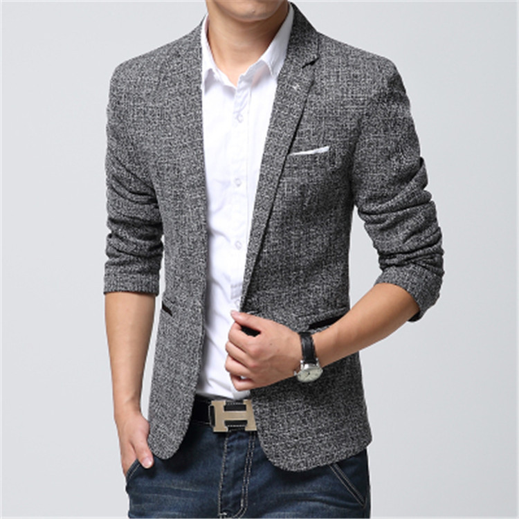 Black cotton summer jacket