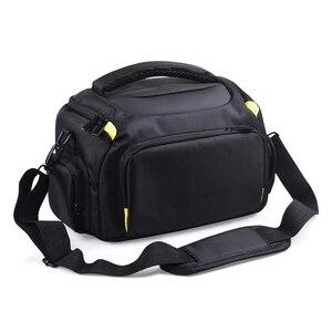 Image 4 - Wennew DSLR كاميرا حقيبة حقيبة الكتف مقاوم للماء لنيكون كانون بنتاكس سوني أوليمبوس غطاء التصوير صور