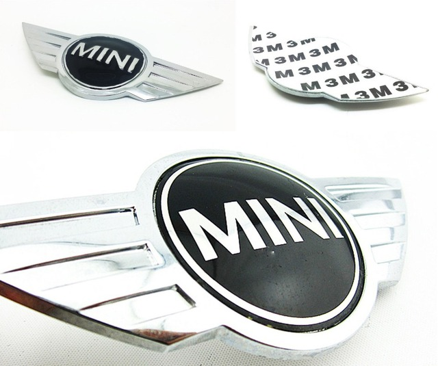Clubman S Front Hood Oem Emblem Badge Symbol Logo With 3m Tape For Bmw Mini Cooper Free Shipping